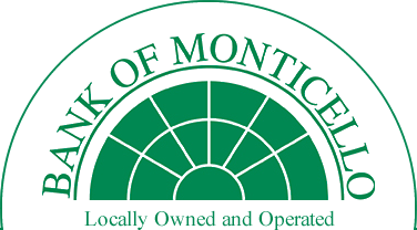 Welcome To The Bank of Monticello